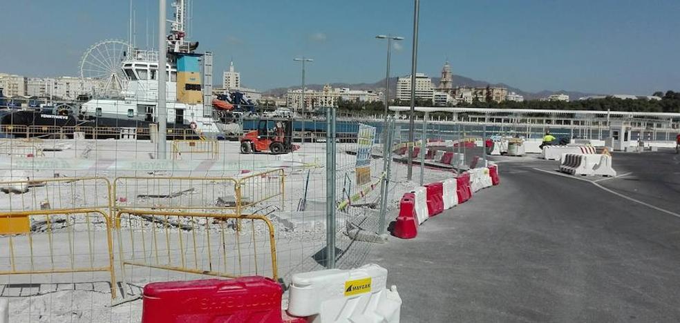 El Puerto prolonga el paseo del Muelle Uno hasta la Casa de Botes