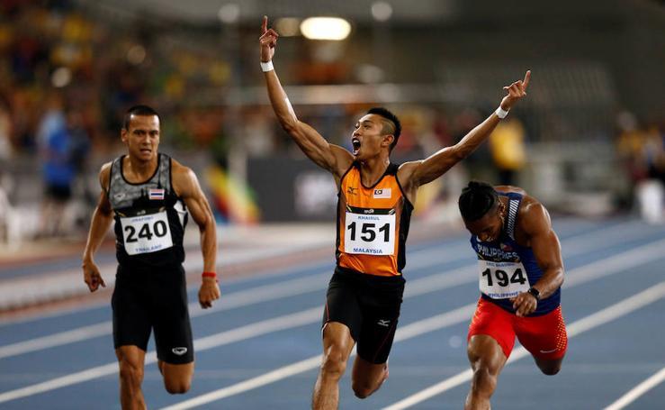 Los Juegos del Sudeste Asiático celebrados en Kuala Lumpur