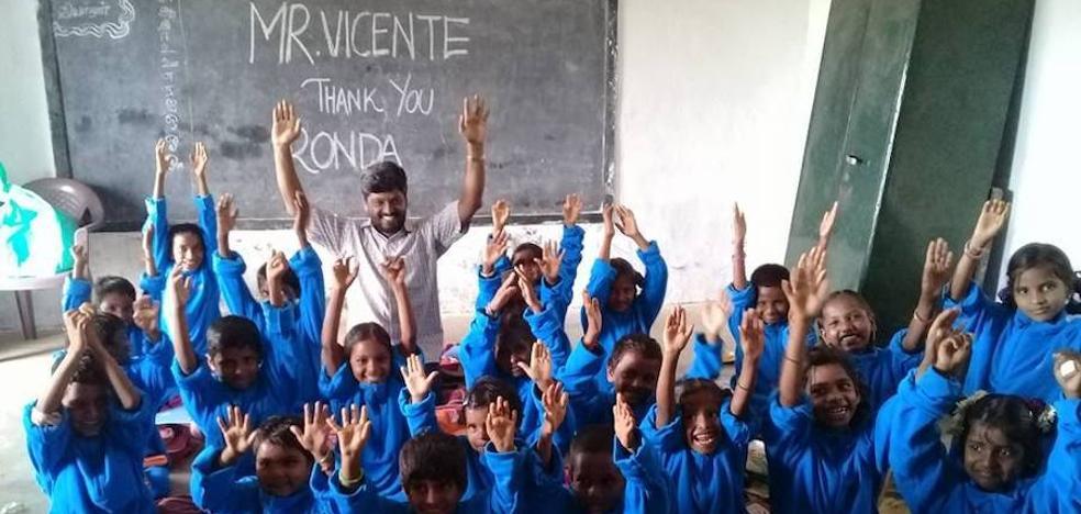 Construirán un colegio y ayudarán a huérfanos en la India tras el accidente de los rondeños