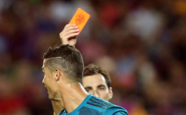 El TAD mantiene el castigo de cinco partidos a Cristiano Ronaldo