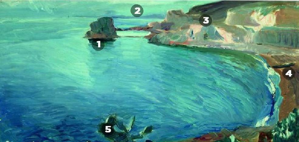 Sorolla pintó otro cuadro en Málaga