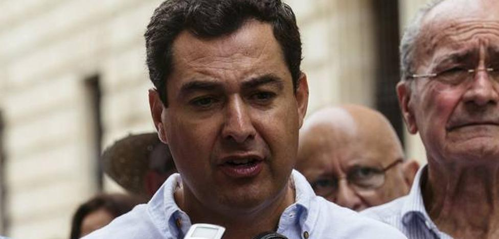 Juanma Moreno: «La moción devolverá a Marbella la normalidad democrática y la voluntad mayoritaria»