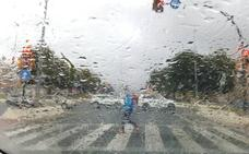 Meteorología activa el aviso amarillo ante el riesgo de fuertes lluvias el lunes en Málaga