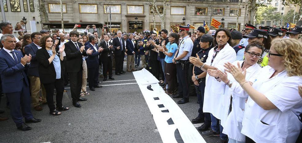 Urkullu confía en que la manifestación de Barcelona sea «un clamor por la libertad»