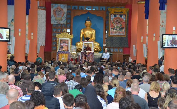 El centro budista Karma Guen cumple 30 años