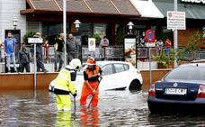 La Dana causa inundaciones en la comarca de Antequera y mejora la situación de los embalses