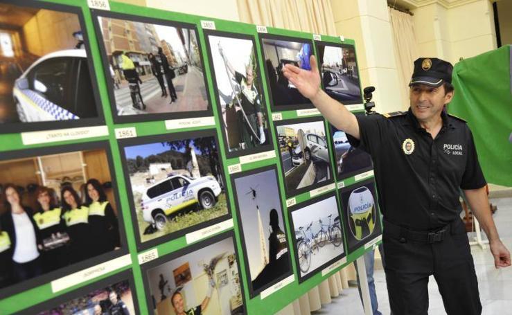 Exposición fotográfica por el 175 aniversario de la Policía Local de Málaga