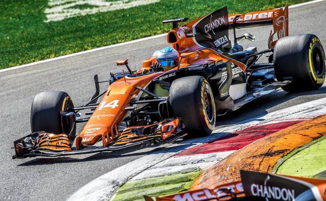 Alonso: «¿Los comisarios? Estarían tomando una Heineken»