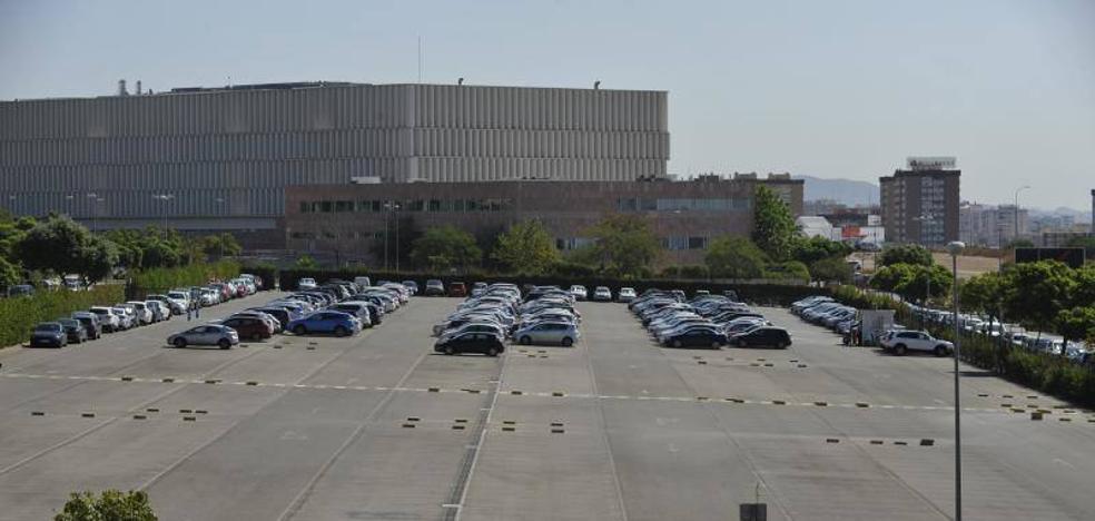 Stop: acceso sólo para funcionarios en el parking de la Ciudad de la Justicia