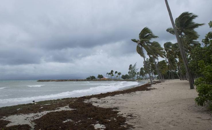"El huracán ""Irma"" alcanza al Caribe"