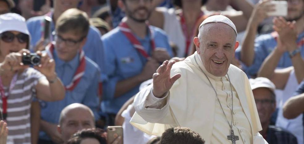 El Papa cambia su ruta hacia Colombia para evitar el huracán Irma