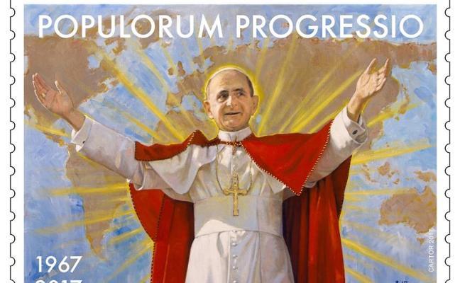 El Vaticano recurre por tercera vez a Berzosa para ilustrar un sello