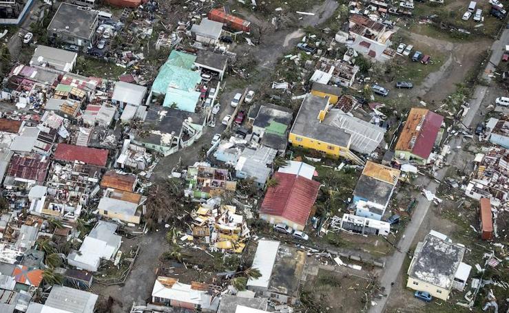 El avance del huracán 'Irma'