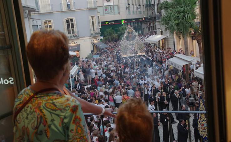 Los actos en honor de la Patrona de Málaga, en fotos