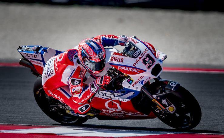 Primera jornada de entrenamientos del GP de San Marino