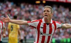 Muniain y Aduriz tumban a un buen Girona y colocan cuarto al Athletic