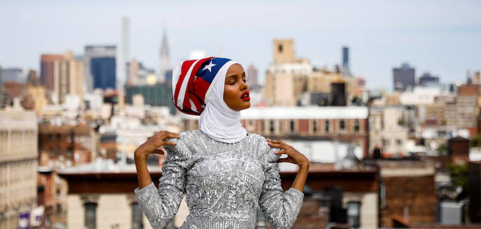 Halima Aden, la modelo del hijab debuta en Nueva York