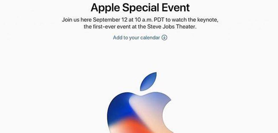 Dónde y cuándo seguir la presentación del iPhone 8, iPhone 8 Plus, iPhone X, Apple Watch Series 3 y Apple TV