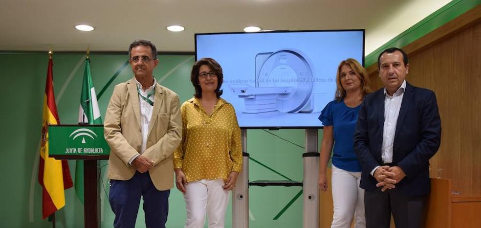 La sanidad pública malagueña dispondrá de cinco nuevos equipos de resonancia magnética