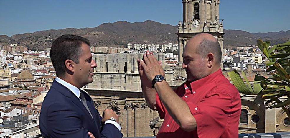 El PP exige a la Junta que tome medidas urgentes para frenar las goteras de la Catedral de Málaga