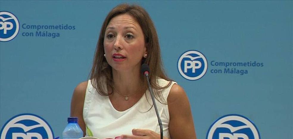 Patricia Navarro deja la vicesecretaría del PP-A para centrarse en la Secretaría General del PP de Málaga