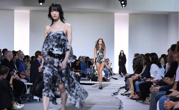 Michael Kors en la Fashion Week de Nueva York