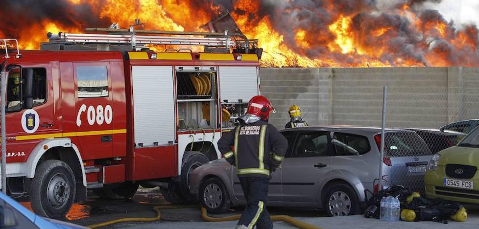 La Fiscalía de Málaga ve indicios de delito en los bomberos de descanso que no se incorporaron tras ser requeridos