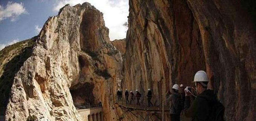 El caminito del Rey recibió de junio a agosto a visitantes de más de 80 nacionalidades
