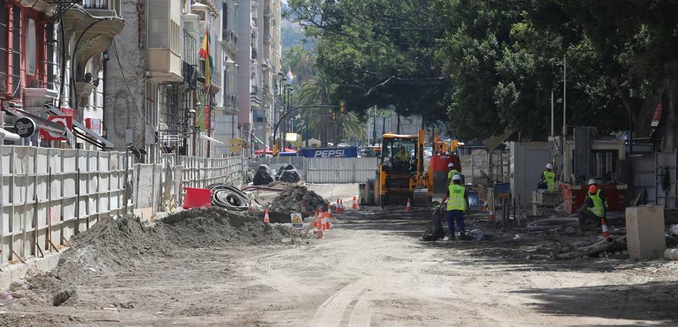 Málaga para la Gente pide a De la Torre que «deje de bloquear» la finalización de las obras del metro