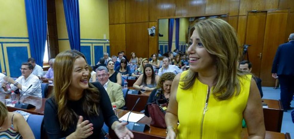 Susana Díaz busca resucitar la movilización del 4-D de 1977 ante el nuevo conflicto territorial