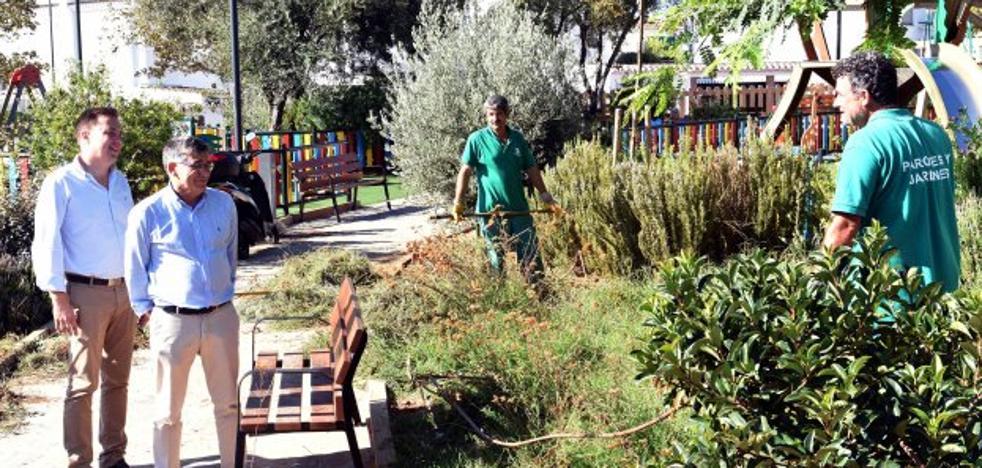 El Ayuntamiento activa un plan integral para la mejora de parques y jardines