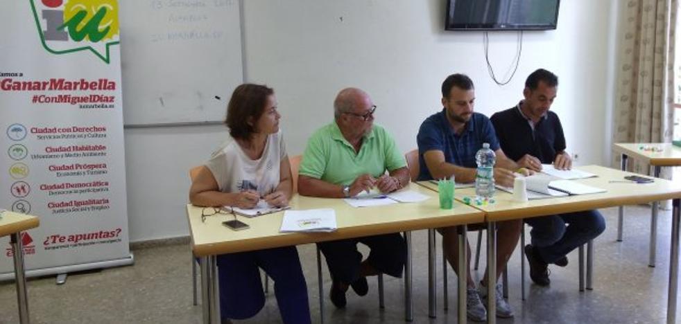 Miguel Díaz revalida el cargo de coordinador local de IU por unanimidad de la asamblea