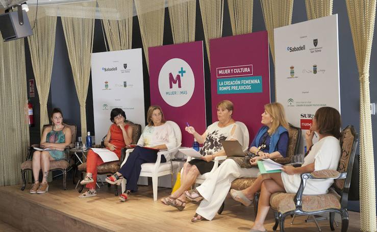 El Foro Mujeres y cultura, en imágenes
