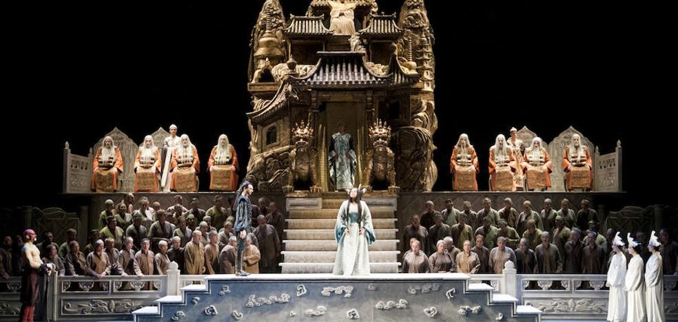 El Cervantes busca seis bajos-barítonos para interpretar a los sabios de Turandot