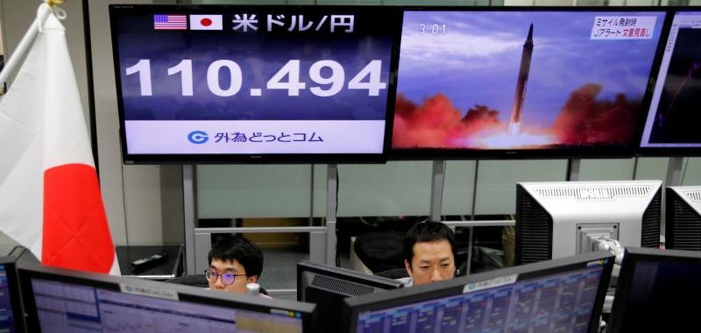 Corea del Norte pone en alerta a Japón con un misil que sobrevuela el norte de la isla
