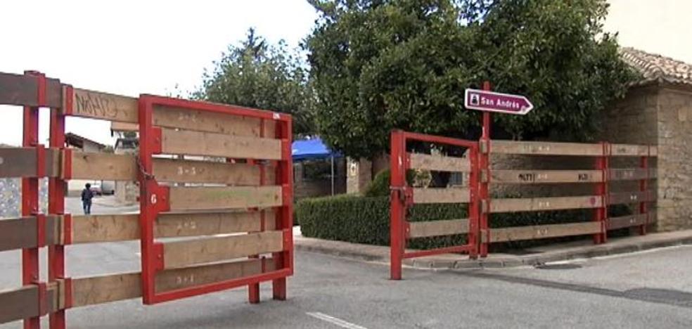 Herida una niña de siete años tras la embestida de un toro en un encierro en Navarra