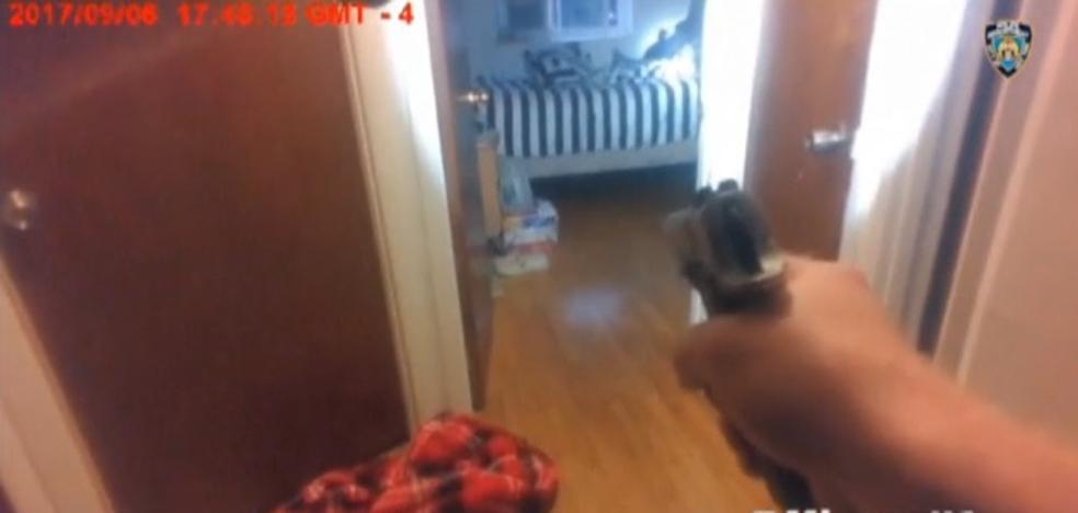 La policía de Nueva York tirotea a un sospechoso que portaba una pistola de juguete