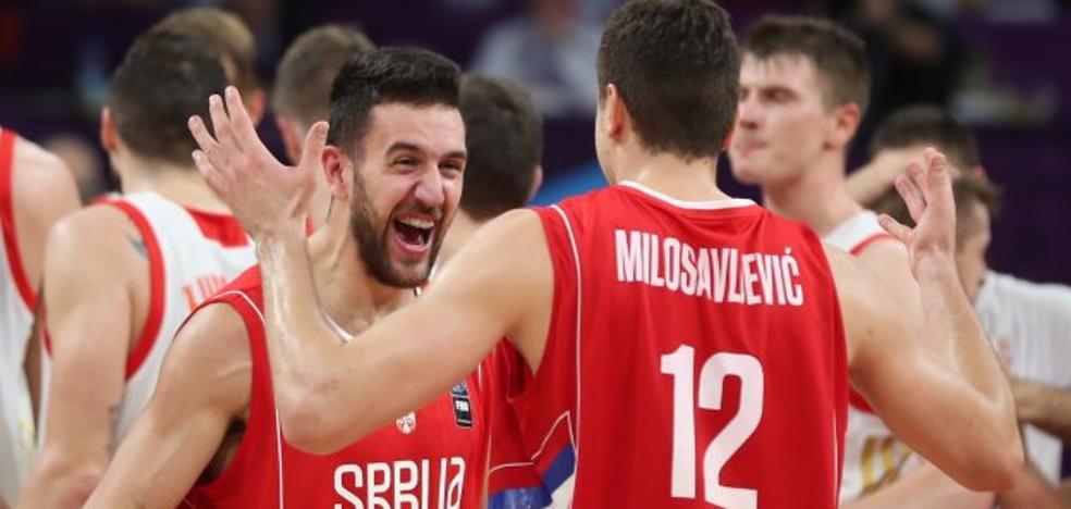 Milosavljevic y una gran Serbia se citan con Eslovenia en la final del Eurobasket (79-87)