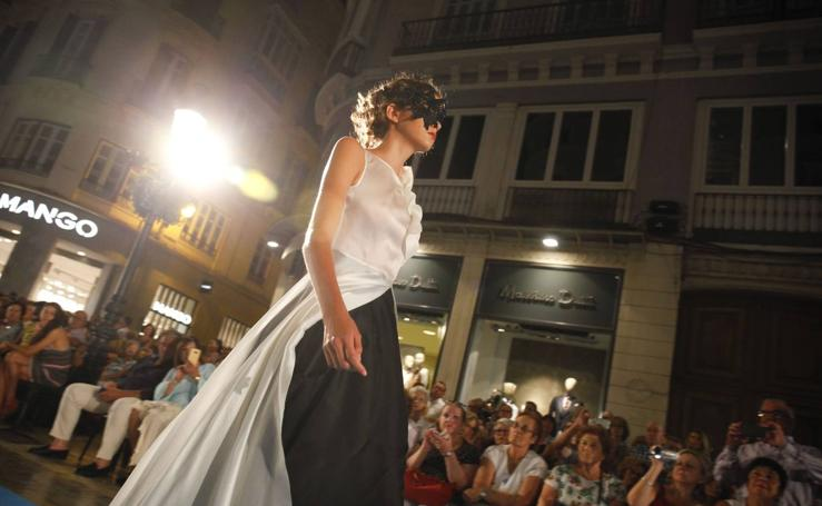 Carla Ruiz, en Pasarela Larios Fashion Week