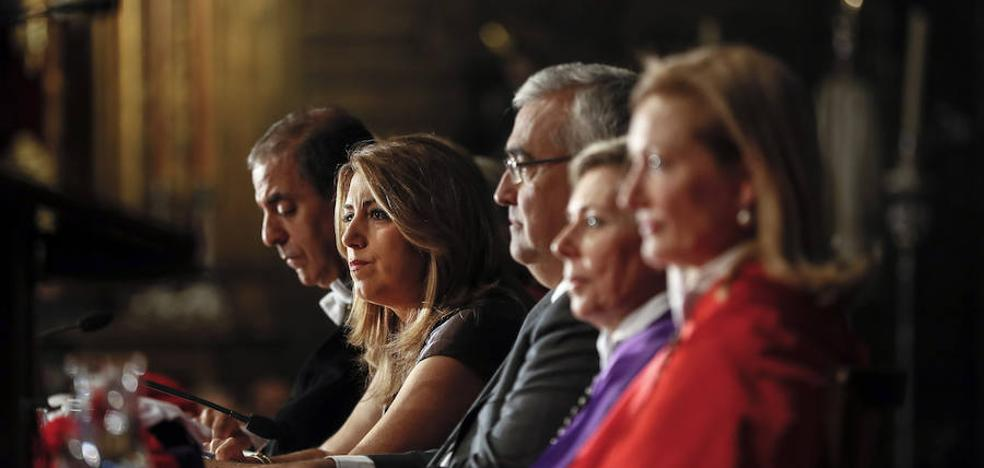 Susana Díaz agradece las universidades su esfuerzo durante la crisis