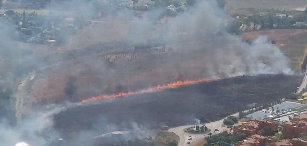 Controlado el incendio forestal declarado en el paraje Haza del Mojón de Benahavís