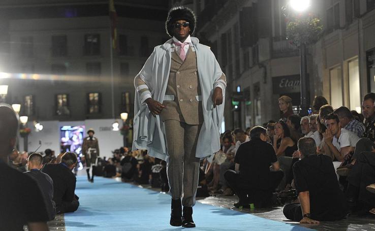 Lucas Balboa, en la Pasarela Larios Fashion Week
