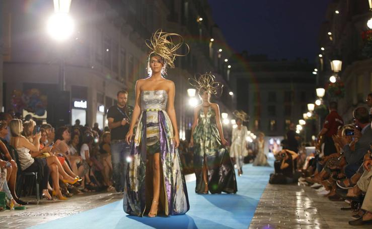 Sonia Peña, en la Pasarela Larios Fashion Week