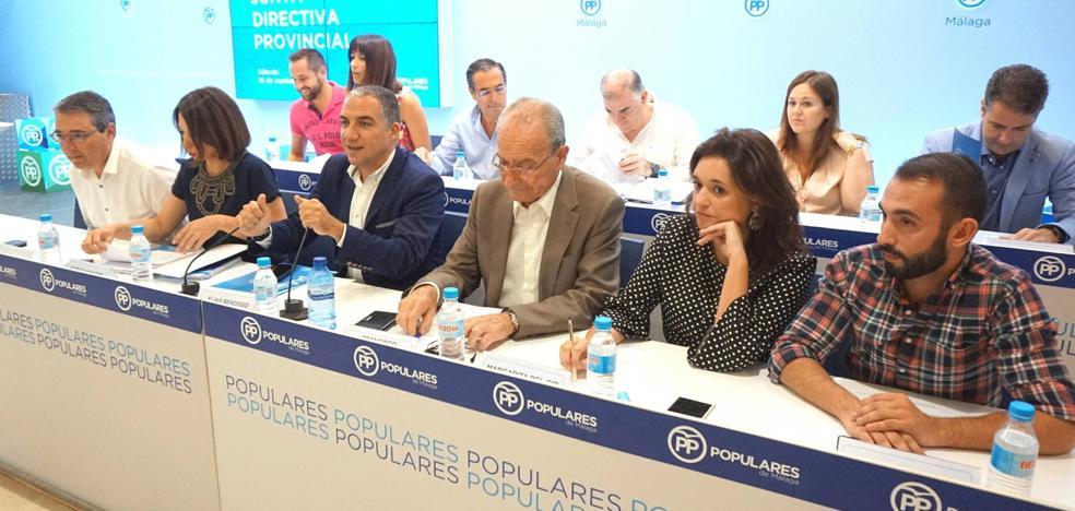 El PP creará un foro «profesional e independiente» para aportar ideas desde Málaga a toda Andalucía