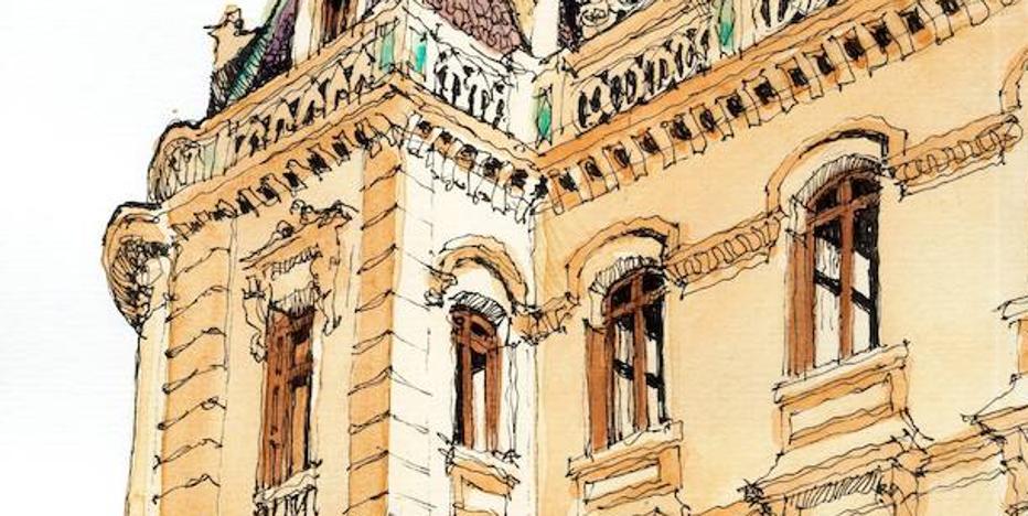 'Málaga a trazos': Desvanes de antaño