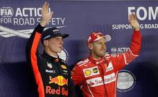 Vettel se revuelve ante Mercedes