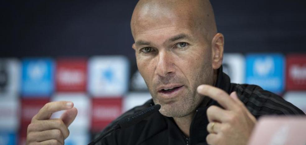 Zidane: «Hay que tener un poco de paciencia con Bale»