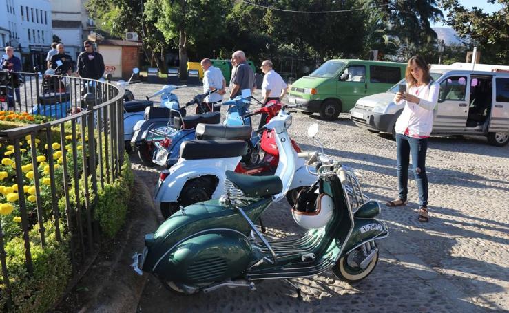 Las mejores fotos de la III Reunión de Vespas y Lambrettas organizada por el Vespa Club Ronda