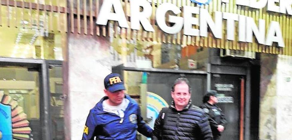 La policía argentina vigiló a Carlos Fernández desde una semana antes de la detención