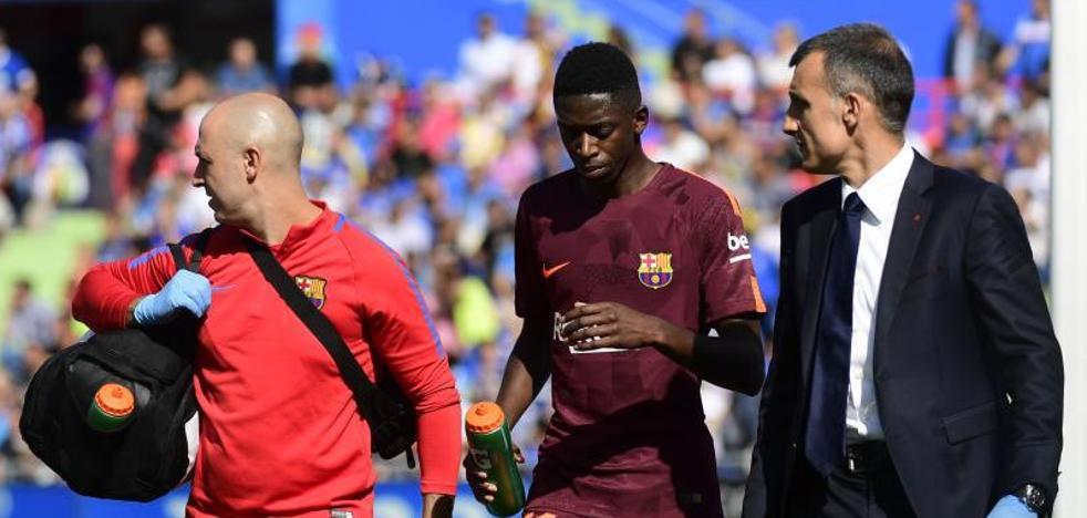 El Barça pierde a Dembélé hasta 2018